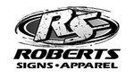 Roberts signs