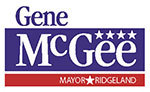 Gene McGee, Mayor