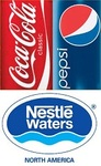 Coke, Pepsi and Nestle Waters